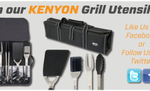 Kenyon Grill Utensils