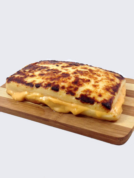 100 Percent Cheese Grilled Cheese