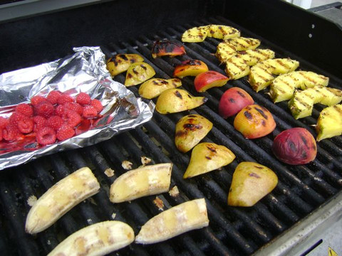Healthy Grilled Fruit