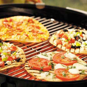 Grilled personal pizza pizzas appetizer superbowl super bowl grill