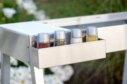 Grill Cart Spice Rack