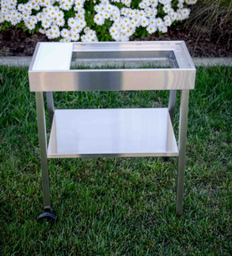 Stainless Steel Grill Cart