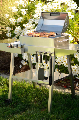 Stainless Grill Cart