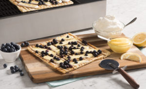 Puff Pastry Pizza with Lemon Curd and Blueberries-057