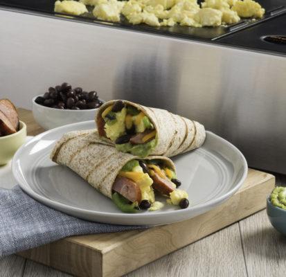 Grilled Chorizo Breakfast Burritos Kenyonkenyon