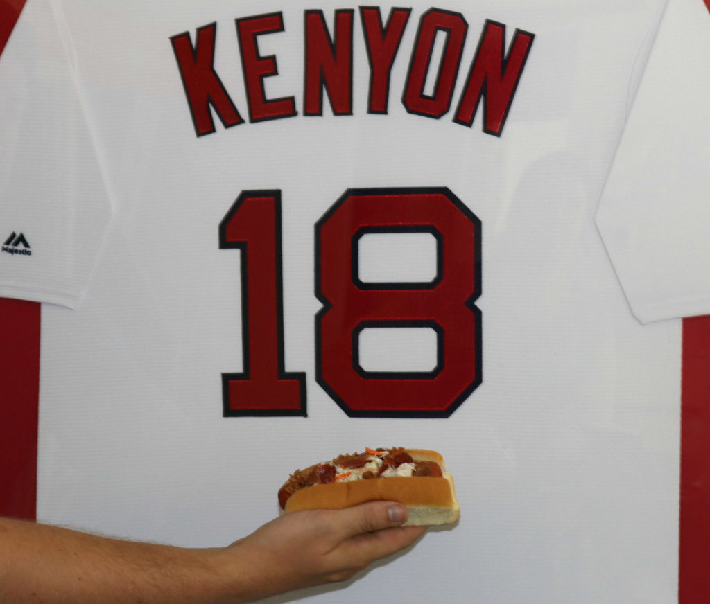 Grill Your Own Fenway Frank Kenyon