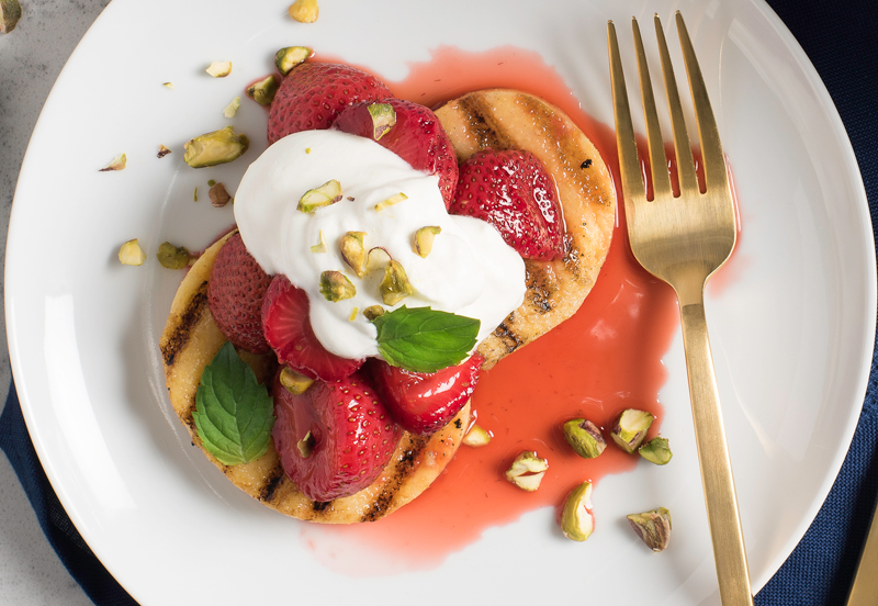 Christmas Eve - Polenta with Strawberries