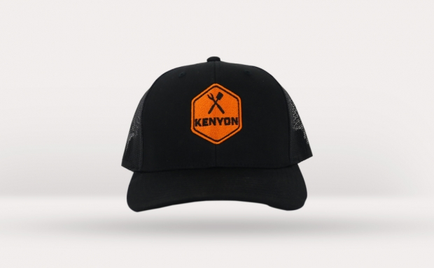 Kenyon Black Mesh Hat