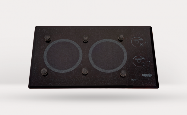 Lite-Touch Q® 2 Burner Trimline with PUPS™