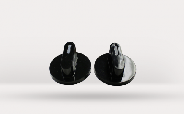 Black Control Knobs